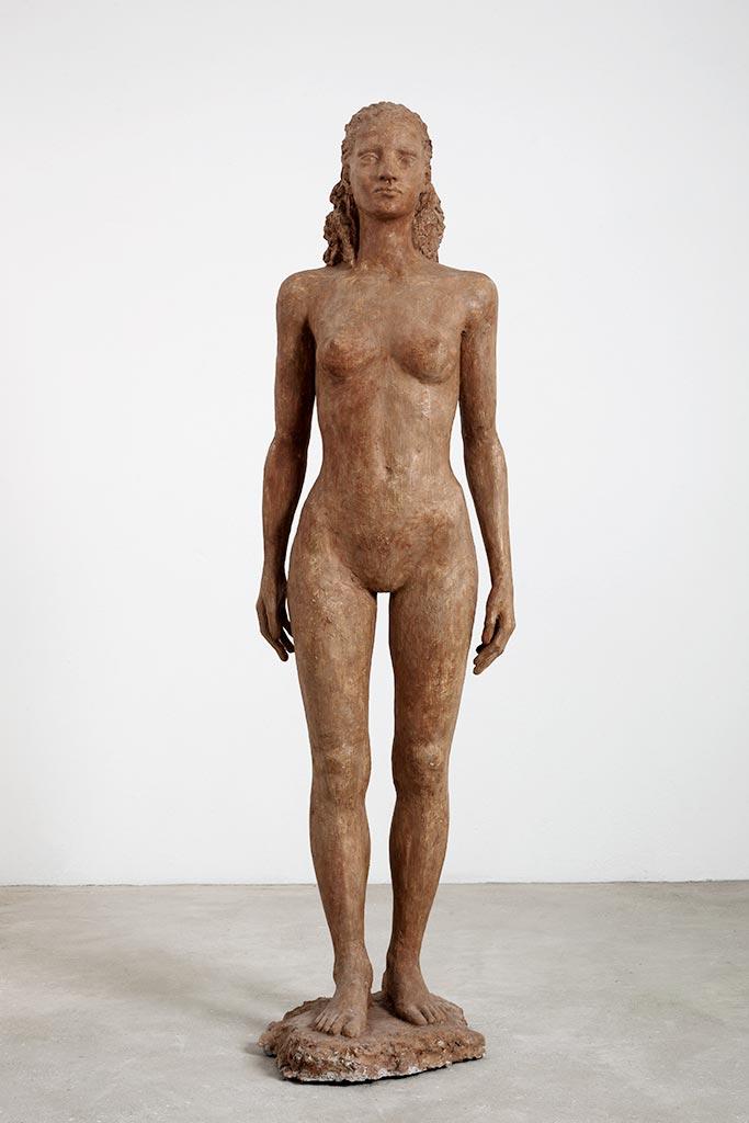 Schreitende, Steinguss, 170 cm, 1999