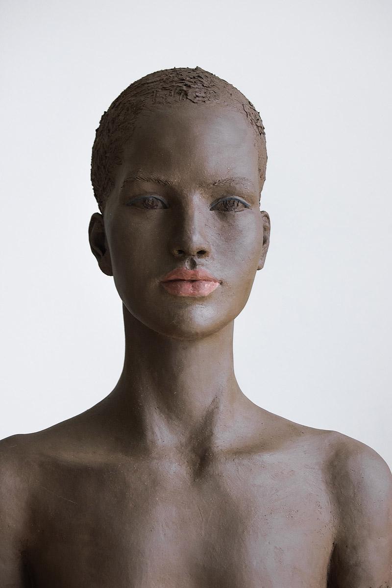 Selan, Terrakotta engobiert, 48x34x24 cm, 2012