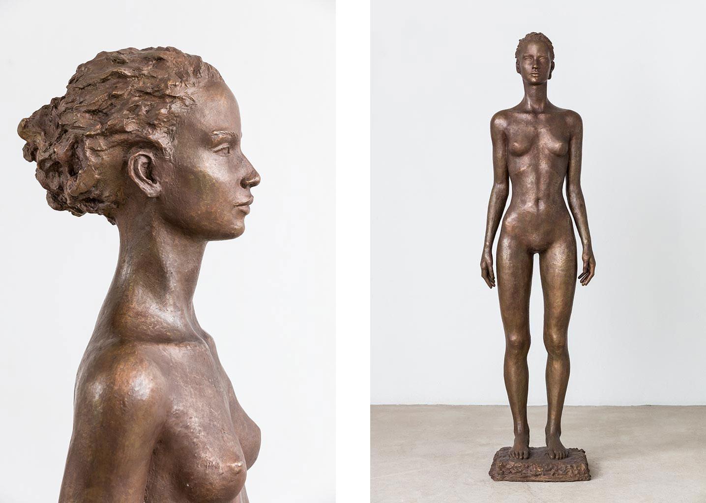 Stehende, Bronze, 165 cm, 2012