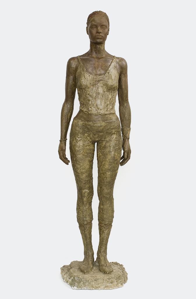Rahel, Steinguss getönt, 174 cm, 2008